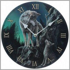 Reloj Lobos Lisa Parker #regalosoriginales #diadelpadre #lobo #wolf #gifts #wildlife