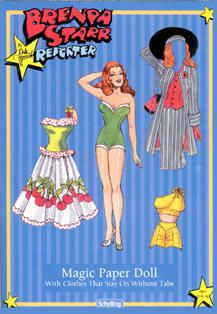 BRENDA STARR PAPER DOLLS - Bing Images http://www.pinterest.com/starlet531951/cartoon/