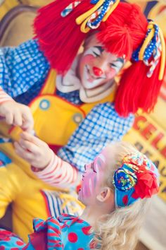 Vintage circus themed birthday party     The Frosted Petticoat