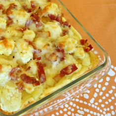 One Perfect Bite: Cauliflower Gratin Perhaps coconut flour instead of the bad stuff? Side Dish Recipes, Vegetable Recipes, Cauliflower Gratin, Cooking Recipes, Healthy Recipes, Lunch Recipes, Good Food, Yummy Food, Vegetable Side Dishes