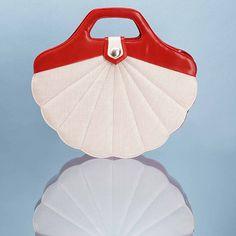I love my Minna Parikka shell bag! Marimekko, Pin Up Style, Dress To Impress, Couture, Bag Accessories, Shells, Beautiful Beautiful, Style Inspiration, Handbags