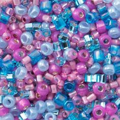 Rocailles are round seed beads. They are commonly sold in size 15 (smallest) to size 3 (largest). When working out how many beads you need for a project is is useful to know how many beads you will roughly get per gram so you can times this by the number of grams in a tube or pack