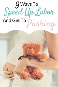 I wish I had done these things to speed up my labor, I would have been done so much quicker than  what the doctor suggested.  Anything to get through labor and delivery faster and less time enduring pain of labor.  Put all of these on your list!  http://mynaturalbabybirth.com/9-ways-to-speed-up-labor-and-get-to-pushing