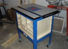 Enclosed kreg router table workshop pinterest kreg router kreg router table garage workshop workshop ideas kreg jig work benches cabinets working tables closets garage greentooth Gallery