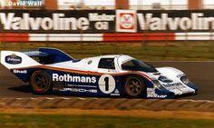 RSC Photo Gallery - Silverstone 1000 Kilometres 1984 - Porsche 956 no.1 - Racing Sports Cars