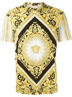 Versace Medusa Baroque T-shirt - Eraldo - Farfetch.com