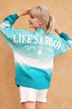 Life's a Beach - Enjoy the Waves - Classic Crew Neck Spirit Jersey®