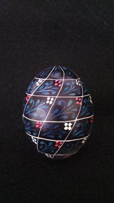 Traditional Ukrainian Egg Art. $20.00, via Etsy.