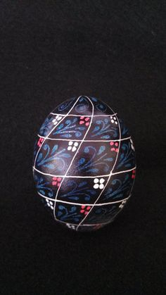 Traditional Ukrainian Egg Art. $20.00, via Etsy.