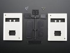 White Enclosure for Arduino - Electronics enclosure