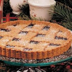 My Austrian grandmother made this nutty jam-filled linzer torte only at Christmastime. So did my mother, and now I'm proud to carry on the tasty tradition. It's a great way to end a holiday meal.