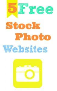 5 sources for free stock photos to use for personal or commercial use.