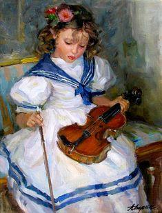 Alexander Averin -petite violoniste