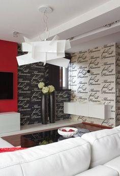 papier-peint-noir-blanc-lettres-noir-blanc-canape-blanc-meuble-mural-blanc