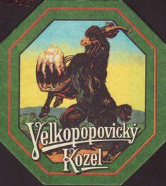 Beer coaster velke-popovice-111 Most Popular Drinks, B Food, Beer Mats, Malted Barley, Beer Coasters, Brewery, Old School, Alcoholic Drinks, Old Things