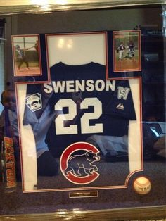 Little league shadow box