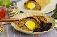 Рулет из фарша с яйцом в духовке - рецепты с фото. Как приготовить мясной рулет с вареными яйцами в духовке