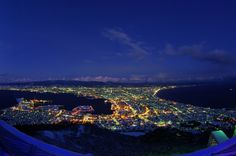 Hakodate Night view By mizuno.as
