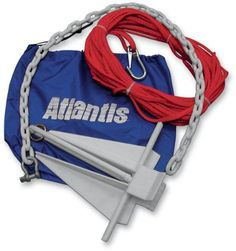 Atlantis Anchor with Bag 6 1/2 lb Jet Boat Anchor A2388BL - http://boatpartdeals.com/anchors-and-docking/anchors/atlantis-anchor-with-bag-6-12-lb-jet-boat-anchor-a2388bl/