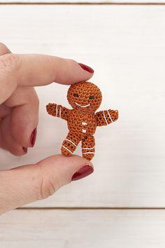 Mini gingerbread man