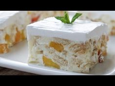 Icebox Desserts, Easy Desserts, Greek Sweets, Greek Recipes, No Bake Cake, Summer Recipes, Vanilla Cake, Biscotti, Cake Recipes