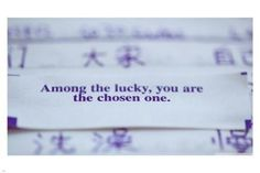 Chinese FORTUNE COOKIE MESSAGE poster 24X36 CUTE funny POSITIVE message NEW