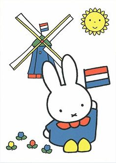 Book Cover Design, Book Design, Dutch Rabbit, Miffy, Dutch Artists, Picture Cards, Illustrations And Posters, Illustrators, Eric Carle