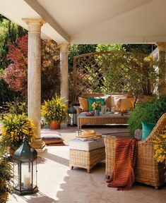 beautiful outdoor room