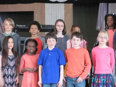 Grade 4 students perform at Tamarack's Spring Assembly. 2014-15