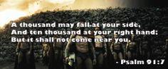Psalm 91:7 #secretplace