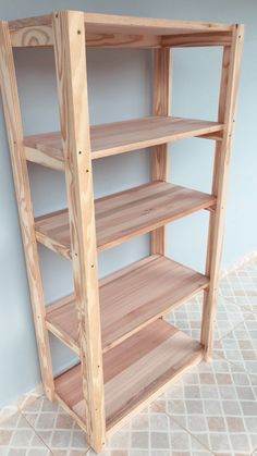 Wood Shop Projects, Diy Wood Projects, Diy Storage Shelves, Shelving, Diy Furniture Plans, Pallet Furniture, Diy Woodworking, Room, Wood Pallets