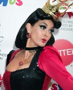Teri Hatcher in Queen of Hearts Halloween Costume