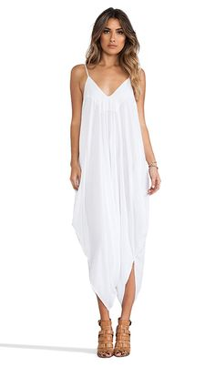 REVOLVE clothing IVORY 2 LOW BACK HAREM JUMPSUIT #white #jumpsuit #summer