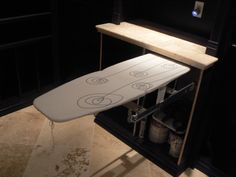 pull-out ironing boards