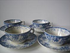Sarreguemines Alphand cups