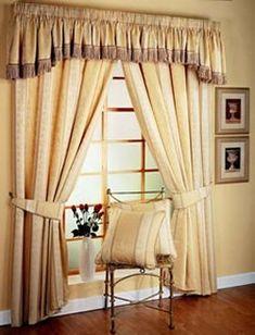 diseño de cortinas, ideas para cortinas, imagenes de cortinas, decoracion con cortinas