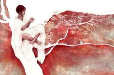 I've been thinking lately about the delicate, sometimes jarring art and illustration of Beatriz Martin Vidal . I just love her technique, t...