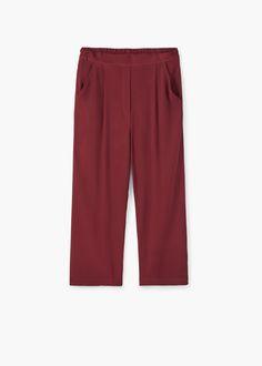 Crop trousers | MANGO