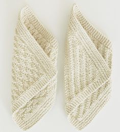 Very interesting for blankets Knitted Washcloth Patterns, Knitted Washcloths, Crochet Dishcloths, Baby Knitting Patterns, Knitting Stitches, Knit Crochet, Lace Patterns, Crochet Patterns, Knit Headband Pattern