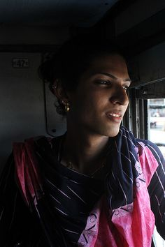 Traveling With The Mumbai Hijras In The Train To Ajmer  (Hijra=Indian transvestite)