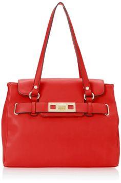 Nine West Modern Proportions Tote Large Shoulder Handbag