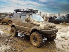 Suzuki Jimny Off Road, Jimny Suzuki, Mini 4x4, Best 4x4, Rc Crawler, Mini Trucks, Offroad, Samurai, Monster Trucks