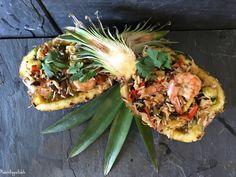 Teriyaki Shrimp Pineapple Bowl
