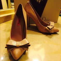 Shoes! Nude.High heel. Betsey Johnson. Matches everything! Great for day and night! Betsey Johnson Shoes Heels