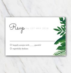 13 best wedding rsvp templates images in 2018 wedding rsvp