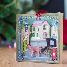 Create the plenty of depth and interest with our festive new Build-a-Scene dies! Crafters Companion Christmas Cards, Crafters Companion Gemini, Garden Planning, Scrapbook Pages, 3 D, Projects To Try, Fancy, Halloween, Holiday Decor