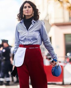 haute couture fashion Archives - Best Fashion Tips Blue Shirt Outfits, Cool Style, My Style, Polo Neck, Haute Couture Fashion, Autumn Winter Fashion, Outfit Of The Day, Fashion Tips, Fashion Trends