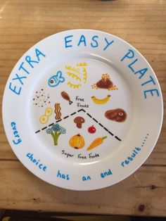 I so want one of these portion control plates! How brill are they? basically, a third of your plate should be speedy veg or fruit at every meal - half if you are doing an SPday Slimming World Syn Values, Slimming World Tips, Slimming Word, Slimming World Dinners, Slimming Eats, Slimming World Recipes, Healthy Eating Recipes, Cooking Recipes, Diet Diary