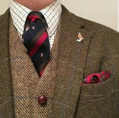 Mens Fashion Smart – The World of Mens Fashion Tweed Suits, Mens Suits, Tweed Run, Masculine Style, Mocassins, Suit And Tie, Well Dressed Men, Business Outfits, Gentleman Style