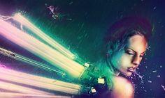 The Humming Dragonfly by Adam Spizak, via Behance